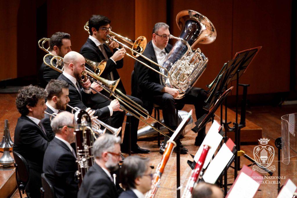 Orquesta de la Accademia Nazionale di Santa Cecilia.